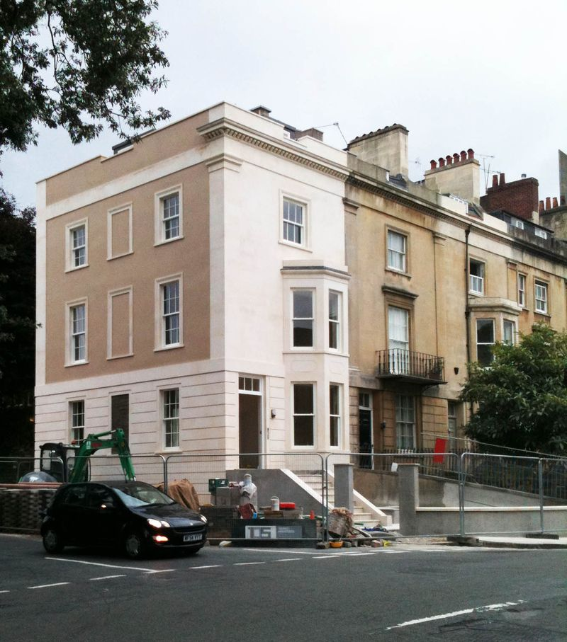 New Build Georgian Listed Building Clifton Bristol